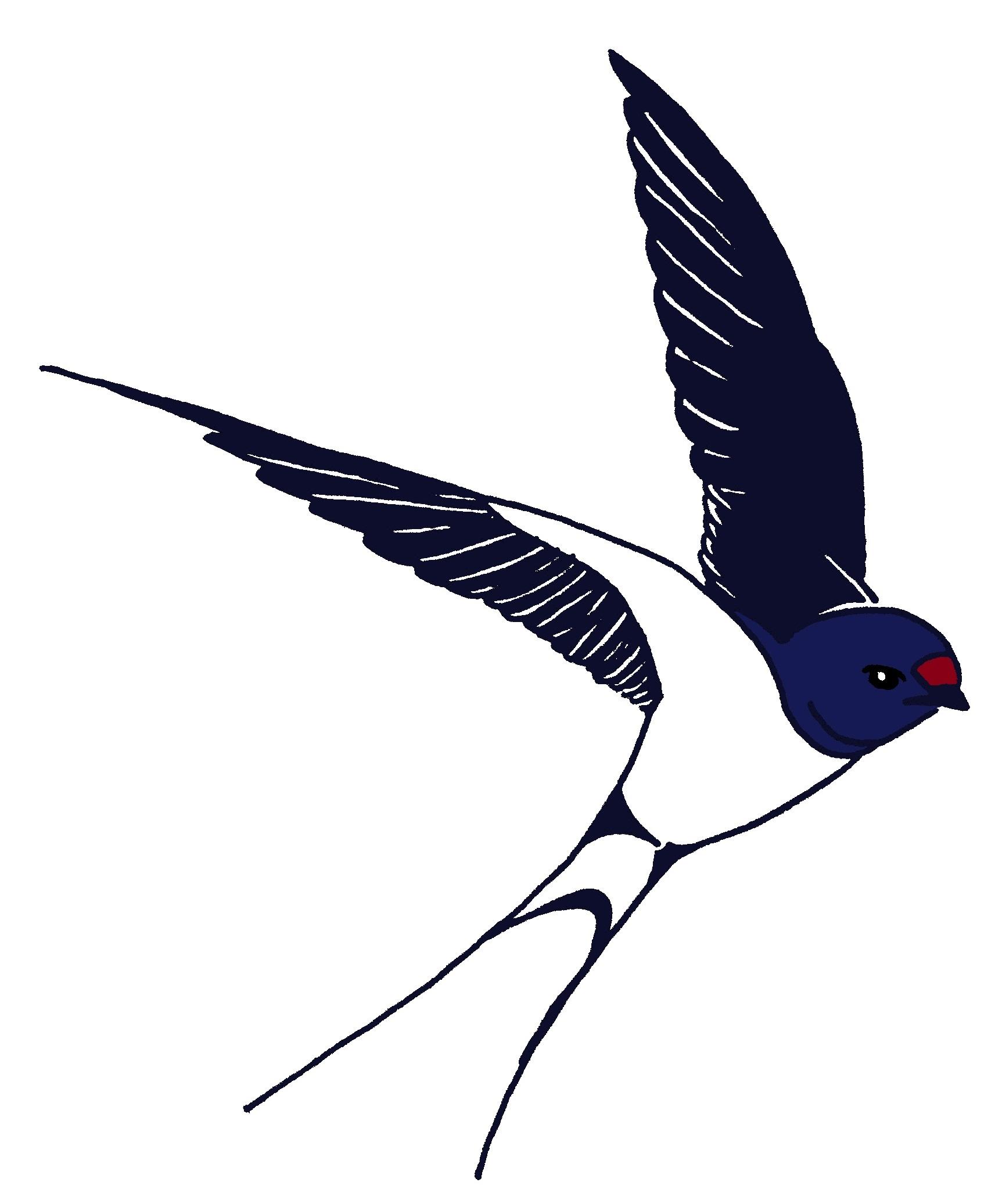 logo 5 flight of a barn swallow logo 5 flight of a barn swallow