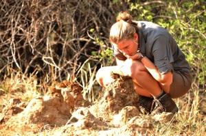 girl termite mounds